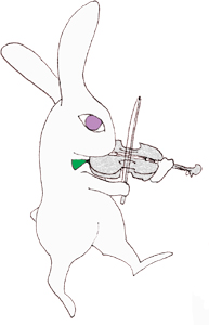 うさぎヴァイオリン